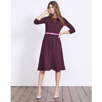 Irene Ponte Dress Purple Women Boden, Purple