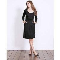 Mabel Jersey Dress Black Women Boden, Black