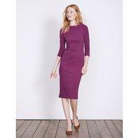 Marisa Ottoman Dress Purple Women Boden, Purple