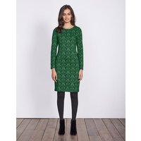 Guinevere Jacquard Dress Green Women Boden, Green