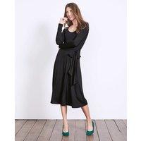 Silvia Jersey Dress Black Women Boden, Black