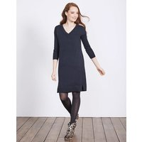 Riley Knitted Dress Navy Women Boden, Navy