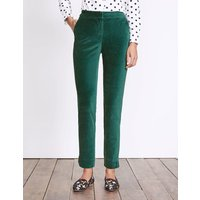 Boden Velvet Trousers Green Women Boden, Green