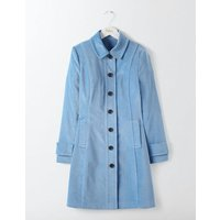 Keswick Velvet Coat Blue Women Boden, Blue