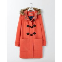 Boden Wool Duffle Coat Red Women Boden, Red