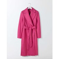 Suki British Tweed Coat Pink Women Boden, Pink
