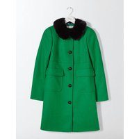 Claudette Coat Highland Green Women Boden, Green