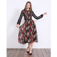 Erica Dress Navy Women Boden, Navy
