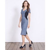 Olivia Wool Dress Blue Women Boden, Blue