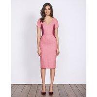 Olivia Wool Dress Pink Women Boden, Pink