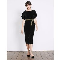 Robyn Velvet Dress Black Women Boden, Black