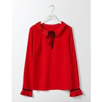 Frieda Top Post Box Red Women Boden, Red