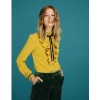 Virginia Blouse Yellow Women Boden, Yellow