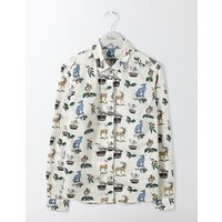 The Classic Shirt Multi Women Boden, Multi