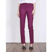Richmond Trousers Purple Women Boden, Purple
