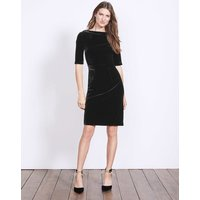 Velvet Martha Dress Black Women Boden, Black