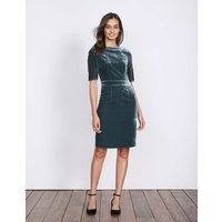 Velvet Martha Dress Blue Women Boden, Blue