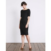 Fleur Fitted Dress Black Women Boden, Black