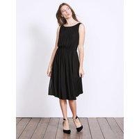 Maria Dress Black Women Boden, Black