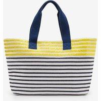Milos Beach Bag Yellow Women Boden, Yellow