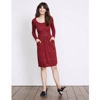 Mabel Jersey Dress Red Women Boden, Red