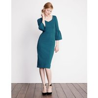 Boden Betty Ponte Dress Blue Women Boden, Blue