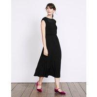 Delilah Jersey Dress Black Women Boden, Black