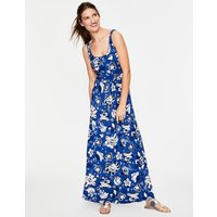 Diana Jersey Maxi Dress Blue Women Boden, Blue