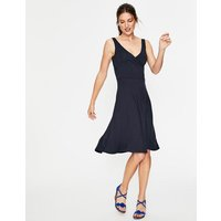 Willa Jersey Dress Navy Women Boden, Navy