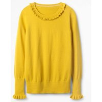 Bernadette Jumper Yellow Women Boden, Yellow