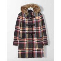 Wool Duffle Coat Multi Women Boden, Multi