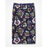 Modern Pencil Skirt Navy Women Boden, Navy