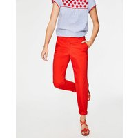 Rachel Chino Trousers Red Women Boden, Red