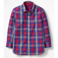 Double Cloth Shirt Red Boys Boden, Red