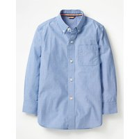 Smart Shirt Blue Boys Boden, Blue