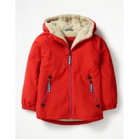Sherpa-lined Anorak Red Boys Boden, Red