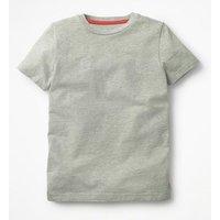 Slub Washed T-shirt Grey Boys Boden, Grey