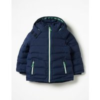 Padded Jacket Navy Boys Boden, Navy
