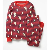 Glow-in-the-dark Pyjamas Red Boys Boden, Red