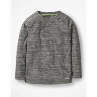 Active Base Layer T-shirt Grey Boys Boden, Black