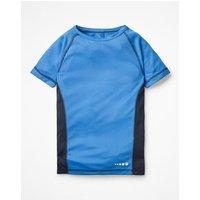 Active T-shirt Blue Boys Boden, Blue