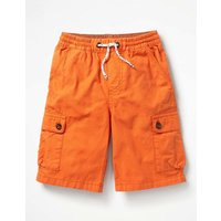 Pull-on Cargo Shorts Mango Fizz Orange Boys Boden, Orange