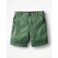 Chino Shorts Green Boys Boden, Green
