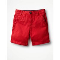 Chino Shorts Red Boys Boden, Red