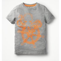 High Seas T-shirt Grey Boys Boden, Grey