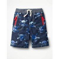Adventure Shorts Blue Boys Boden, Navy