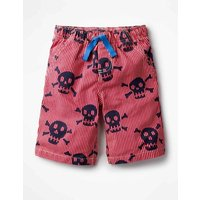 Printed Board Shorts Red Boys Boden, Red