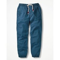 Lined Woven Joggers Blue Boys Boden, Blue