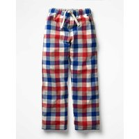 Brushed Check Bottoms Red Boys Boden, Red