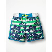 Surf Shorts Green Boys Boden, Green
